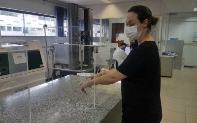 Alltec doa protetores faciais para hospitais e serviços públicos de saúde
