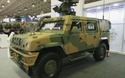 Iveco fornece LMVs para o Exército Brasileiro