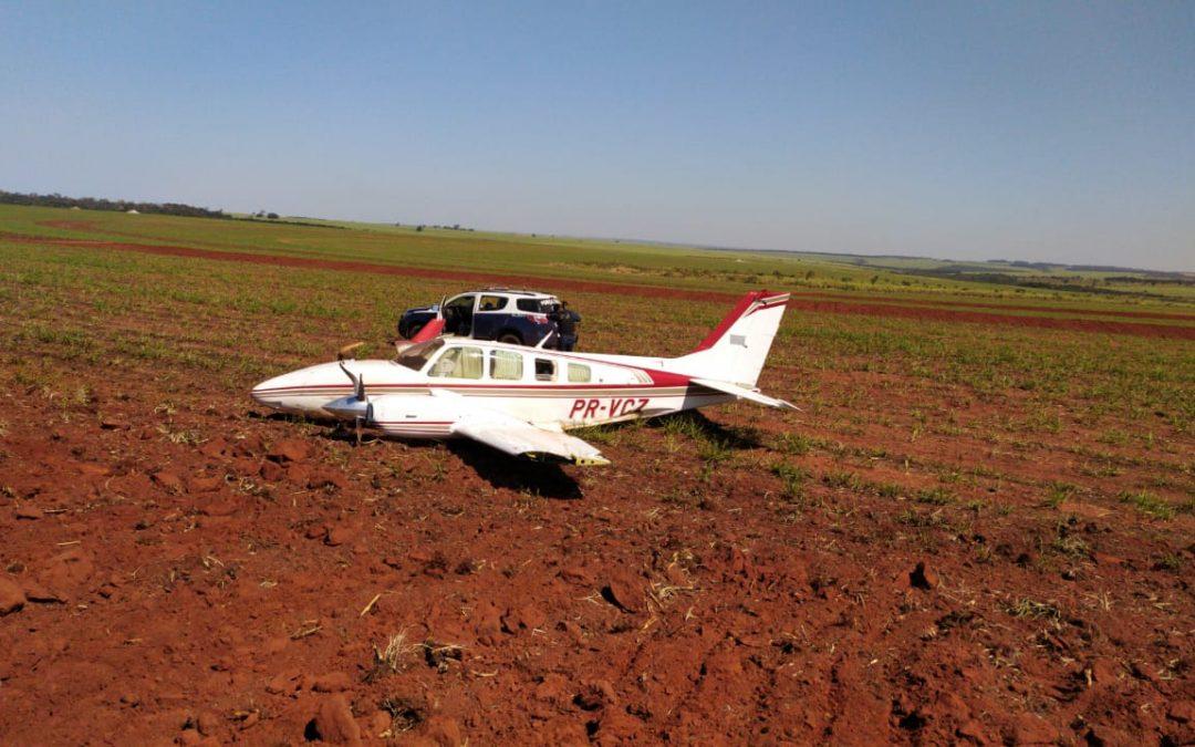Força Aérea intercepta duas aeronaves suspeitas em operações simultâneas