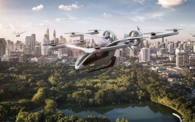 Eve, primeiro spin-off da EmbraerX, é lançada para conceber o futuro da Mobilidade Aérea Urbana