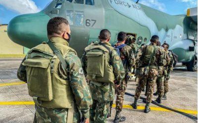 Forças Armadas intensificam ações de combate a crimes transfronteiriços e ambientais na Amazônia