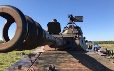 Regimento de Cavalaria Mecanizado atua em operação de defesa