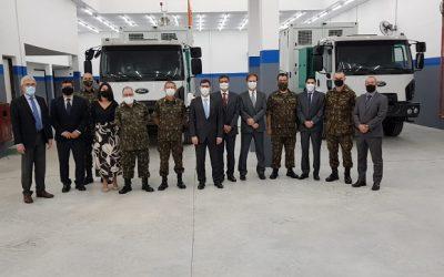 OMNISYS recebe visita técnica do Exército