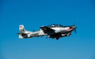 Embraer entrega ultimo lote de aeronaves de ataque A-29 Super Tucano para Força Aérea das Filipinas