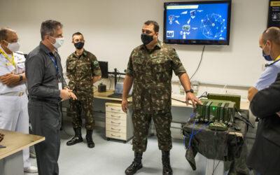 AEL Sistemas realiza demonstração de interoperabilidade de sistemas de comando