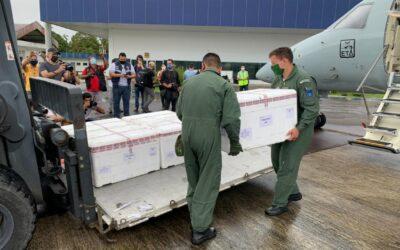 Forças Armadas concluem, com 24h de antecedência, distribuição da vacina