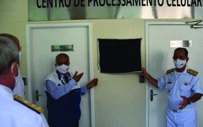 Hospital Naval Marcílio Dias inaugura Centro de Processamento Celular