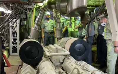 Comandante da Marinha visita importantes projetos em andamento no AMRJ