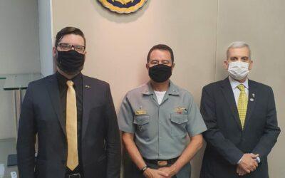ABIMDE discute plano de ação em reunião com Comando da Marinha