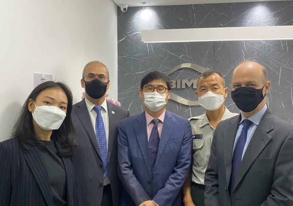 ABIMDE recebe delegação da Coreia do Sul e discute Plano de Ação em conjunto