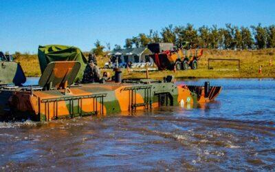 Tropas conhecem poderio da viatura Guarani em atividade