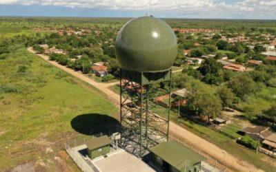 Radar construído pela Omnisys começa a operar em Porto Murtinho (MS)