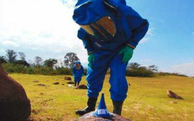 Batalhão de Defesa NBQR realiza adestramento nas instalações das Indústrias Nucleares do Brasil