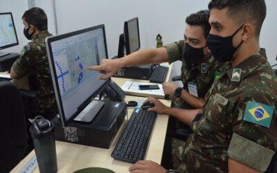 Brigada de Infantaria realiza treinamento por meio de jogo de guerra
