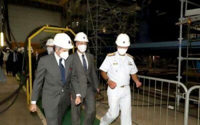 Diretor-Geral da Agência Internacional de Energia Atômica visita instalações do Prosub