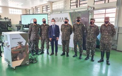 Ares firma parceria com Curso de Material Bélico para criação de um espaço de instrução na Academia Militar das Agulhas Negras