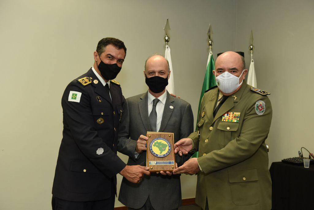 Comandante Albuquerque, Diretor de Projetos da ABIMDE, na reunião da CNCG - Foto: Divulgação