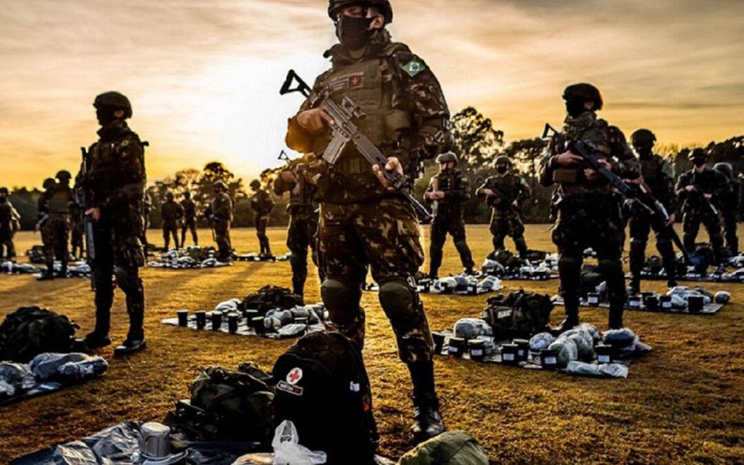 Tropas do Exército Brasileiro são certificadas pela ONU - Foto: Coter/5DE