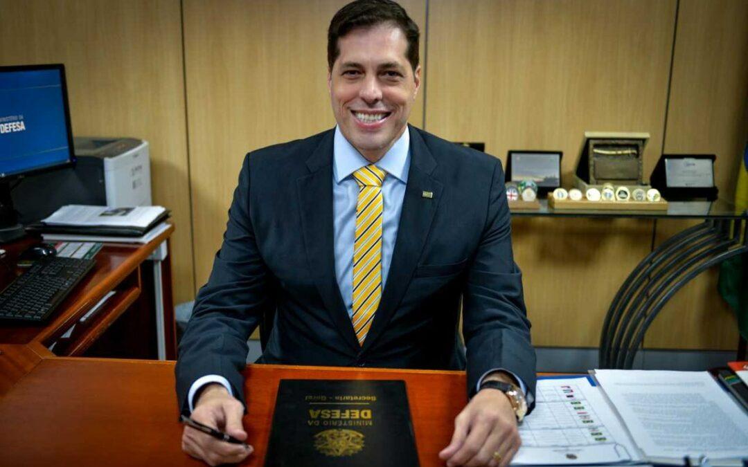 Secretario Marcos Degaut, do Seprod, do Ministerio da Defesa - Foto Divulgação/MD