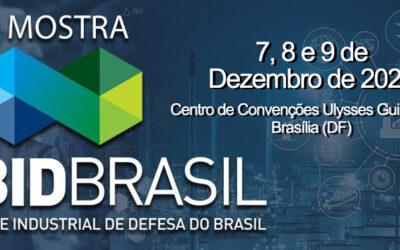 Mostra BID Brasil é vitrine do setor de Defesa e Segurança em 2021