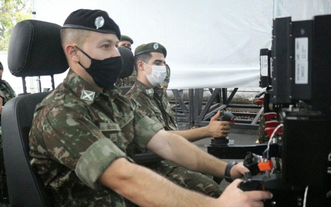 Ares recebe visita de militares - Foto: Divulgação/Ares