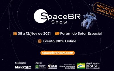 Com apoio da AEB, SpaceBR Show vai reunir representantes do setor espacial em evento online